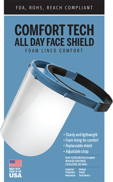 Comfort Tech All Day Face Shield